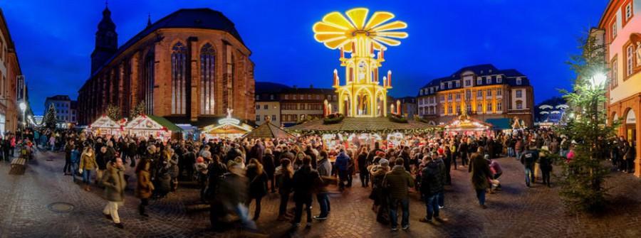 Kerstweekend 2019 Mainz, Heidelberg, Rüdesheim op 29 nov.